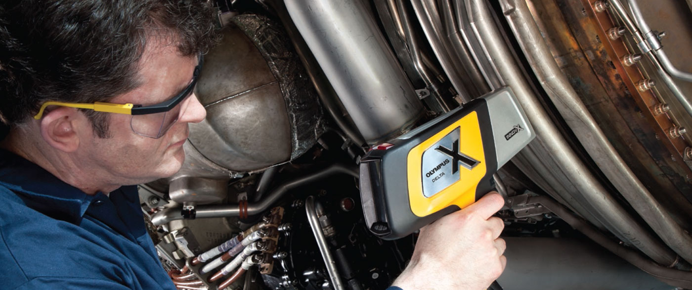 Innov-X handheld alloy analyzer for positive material identification