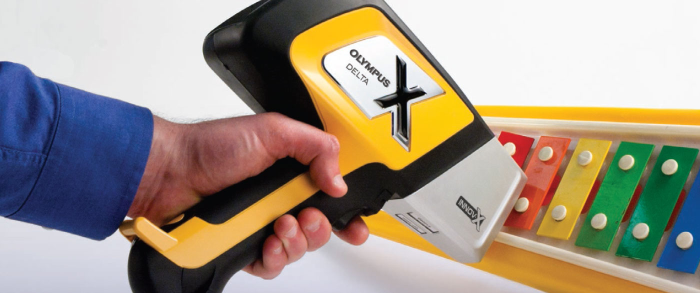 Verify RoHS/WEEE compliance of a with a handheld XRF analyzer rental